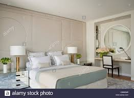 Bedroom Wall Padding Padded Wall With Double Bed In Showflat By Collett Zarzycki Stock