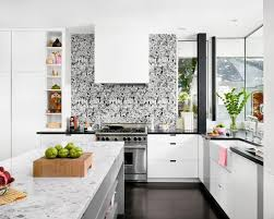 Red And Black Kitchen Tiles - black and white kitchen tiles light and dark modern raw rustic