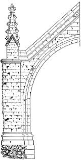 flying buttress flying buttress clipart etc