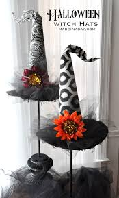 decorative halloween witch hats modern witch white witch and