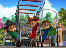 image chipmunks shopping trolley cowboy png