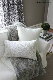 Pottery Barn Willow Table Finally My Living Room Is Perfectly Pillow Ified Driven By Decor