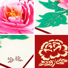thanksgiving day flowers 3d pop up birthday thanksgiving greeting cards valentine flowers