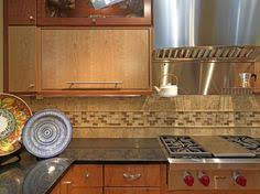 backsplash like the trim around the window this would really
