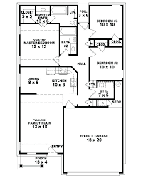 3 bedroom 3 bath floor plans small 3 bedroom house plans best ranch house plans ideas on ranch