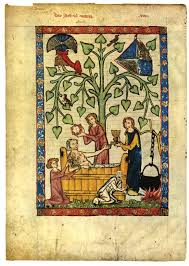 Medieval Birthing Chair Bathing A History