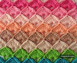 pattern of crochet stitches mypicot free crochet stitch patterns