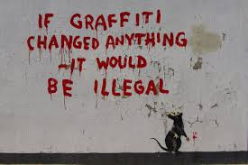 Banksy S Top 10 Most Creative And Controversial Nyc Works - an invisible man with a visible presence banksy the intangible