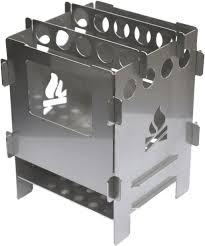 bushbox outdoor pocket stove