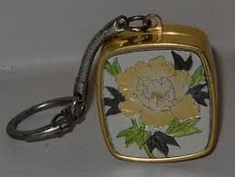 Music Box Keychain Vintage Sankyo Music Box Keychain Plays Theme From By Luv2junk
