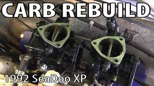 1992 Sea Doo Carburetor Rebuild Youtube