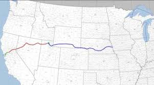 map us railroads 1860 the transcontinental railroad