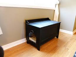 litter box side table 27 useful diy solutions for hiding the litter box throughout hide