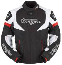 red and black motorcycle jacket furygan spark textile tour clothing jackets motorcycle black white