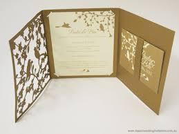 trifold wedding invitation choice image party invitations ideas