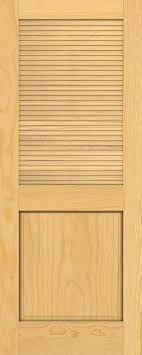 Louvered Doors Interior Discount 6 8 Traditional Louver Panel Pine Interior Wood