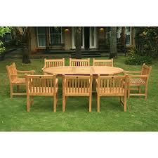 Teak Outdoor Dining Set Beauty Teak Patio Dining Set Home And Garden Decor Teak Patio