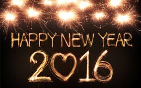 happy new year 2016 light painting fireworks desktop wallpaper