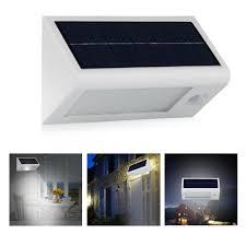 Solar Powered Motion Sensor Outdoor Light by Solar Lights 400 Lumens Solar Powered Motion Sensor Light 32 Led