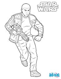 finn force awakens coloring pages hellokids