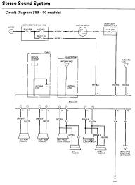 96 honda civic radio wiring diagram wiring diagram and schematic
