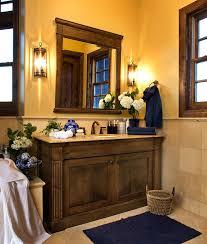 bathroom mission style bathroom vanity mud room sink shower head