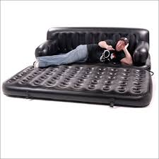 Air Sofa 5 In 1 Bed 5 In 1 Inflatable Sofa King Air Bed In Black By Smart Air Beds Bd 0012