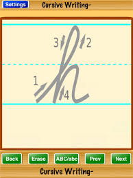 how to write i in cursive cursive writing on the app store