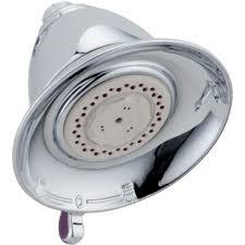 delta victorian 3 spray 5 1 2 in touch clean shower head in touch clean shower
