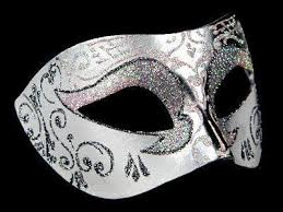 white masquerade masks for women settecento venetian masks silver white