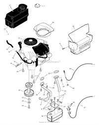 murray 465307x31a lawn tractor 2005 parts diagrams