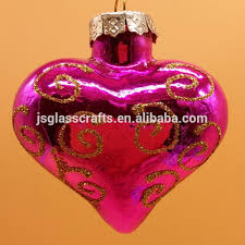 Christmas Decorations Wholesale Gauteng by Glass Heart Ornaments Hanging Glass Heart Ornaments Hanging