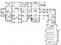 l shaped house floor plans awesome shaped house plans with attached garage on small l shaped