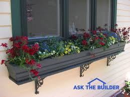 Metal Window Boxes For Plants - window box installation tips ask the builderask the builder
