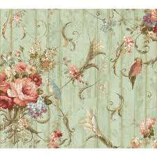 york wallcoverings home design york wallcoverings ha1326 blue book parrots with floral bouquets