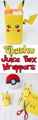 free pikachu juice box wrappers for the pokémon fan