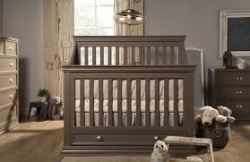 table rustic gray baby crib with drawer underneath beautiful