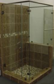 shower with glass doors showers coastal glass and hardware