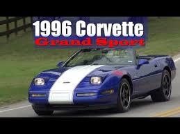 1996 corvette review 1996 chevrolet corvette grand sport lt4 c4 convertible