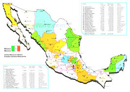 Map Of Mexico by Map Of Mexico Best Meixco Map Evenakliyat Biz