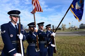 Color Guard Presentation Of The Flags Airman Upholds Honor Guard Tradition U003e Air Force Global Strike