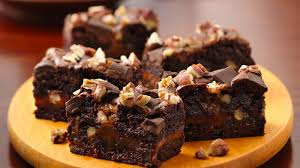 ultimate turtle brownies recipe bettycrocker com