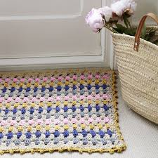 Crochet Doormat Simple Chic Crochet By Mrs Moon Makeetc Com