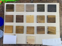 what stain looks on pine stain colors on pine dailey woodworks