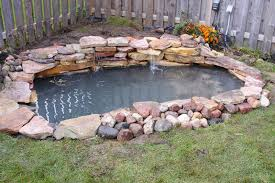 How To Build A Pond In Your Backyard by How To Build A Pond Crafts Home