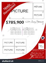 Real Estate Flyers Template by Vector Real Estate Flyer Template Stock Vector 22537255 Shutterstock