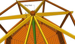 Gazebo Floor Plans Gazebo Roof Framing Myoutdoorplans Free Woodworking Plans And