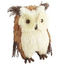 sisal owl decor pier1 us i am in love with these decorations and