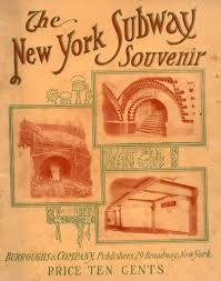 Map Of Nyc Subway System by Www Nycsubway Org The New York Subway Souvenir 1904
