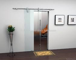 glass door track modern barn door track barn decorations